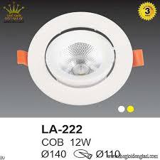 Đèn Led Âm Trần Euroto LA222 ɸ140