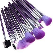corrector makeup purple makeup brushes