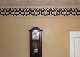 Amazon Com Enchantingly Elegant Border Molding Trim Vinyl Decal Wall Sticker Embellishments Flourishes Scroll Home Decor Home Kitchen