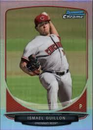 2013 Bowman Chrome Prospects Refractors béisbol tarjeta #BCP33 ...