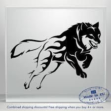 Wolf Car Decal Animal Truck Window Decals Vinyl Sticker Decor Bumper Laptop 3m Ebay