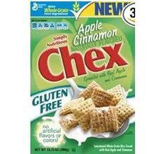 gluten free apple cinnamon chex cereal