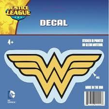 Dc Comics St Ww Logo001 Car Window Decal Buy Online In French Polynesia At Desertcart