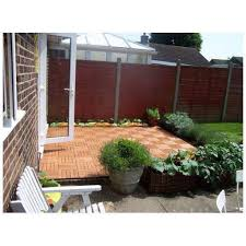 wooden garden decking tiles anti slip