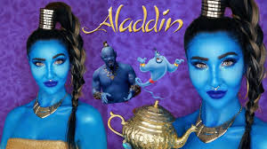 aladdin genie makeup tutorial 2019