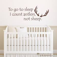 To Go To Sleep I Count Antlers Not Sheep Decal Hunting Etsy