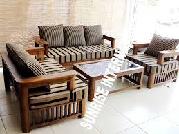 25 elegant wood furniture sofa images