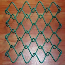 Roll Green Pvc Coated Chainlink Mesh Rs 20 Square Feet Gulson Traders Id 22597200897