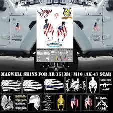 Punisher 2 Spartan Decal Vinyl Stickers Moan Labe Veteran Gun Laptop Cellphone 9 99 Picclick