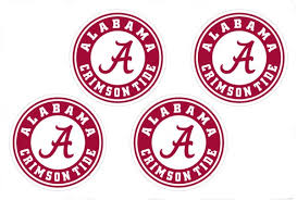 4 Alabama Crimson Tide Ncaa Decals Yeti Stickers F