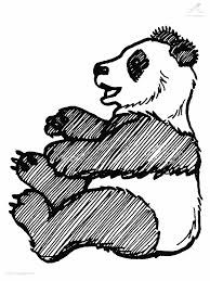 Kleurplaat Dieren Beer Kleurplaat Panda