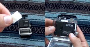 diy anti fog inserts for your gopro