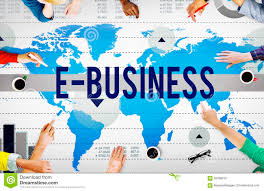 E-Business Online Networking Technology Marketing Commerce Concept Stock  Photo - Image of connecting, aerial: 56298216