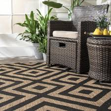 Nuloom Shane Celtic Trellis Brown 5 Ft X 8 Ft Indoor Outdoor Area Rug Owdn31a 53076 The Home Depot