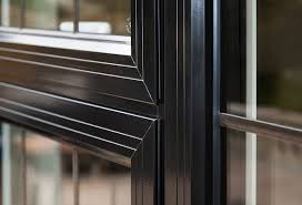 metal double glazed aluminium windows