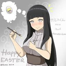 Naruto - Hinata - Happy Easter Fanart by Umicchan on DeviantArt