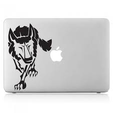Wolf Tattoo 2 Laptop Macbook Vinyl Decal Sticker