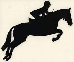 Ottb Thoroughbred Decal English Hunter Jumper Horse Equestrian Small Black Right Ebay Hunter Jumper Horses Horse Equestrian Hunter Jumper