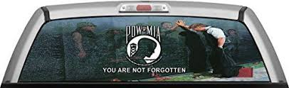 Vietnam Memorial Wall Pow Mia By Itigd Truck Rear Window Decal Wrap Learn More Home Deco Rear Window Decals Vietnam Memorial Wall Home Decor Accessories