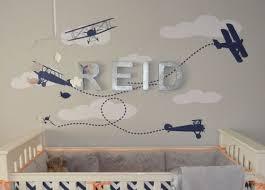 Vintage Airplane Nursery Theme Airplane Baby Room Decor