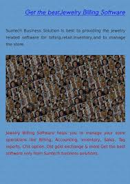 ppt jewelry billing software