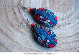 handmade jewelry polymer clay abstract