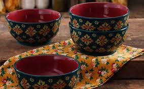 the pioneer woman 4 ct latte bowl set