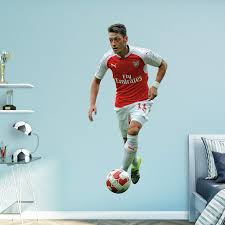 Fathead Arsenal Gunners Mesut Ozil No 11 Wall Decal Walmart Com Walmart Com