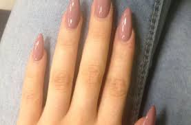 almond shaped nails design ideas oval