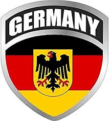 German Eagle Crest Vinyl Car Decal Sticker Family Heritage Bumper Truck Laptop Ushirika Coop