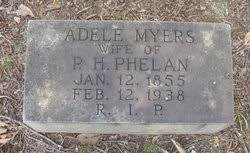 Adele Myers Phelan (1855-1938) - Find A Grave Memorial