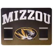 The Mizzou Store Mizzou Oval Tiger Head Large Sticker