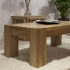 pandora solid oak coffee table 4x2