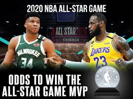 Odds To Win MVP Of 2020 NBA All-Star Game