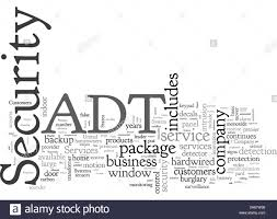 ADT Home Security Stock Vector Image ...