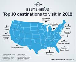 annual top 10 us travel destinations