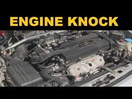 engine knock sound explained you