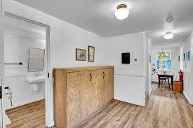 View of pull-out, ADA-accessible Murphy bed. - Picture of ...