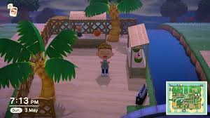 I Made A Little Beach Bar Area Hope You Like It Also Please Give Me Feedback So I Can Improve Animalcrossing