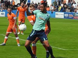Striker Byron Harrison ready to put in hard yards after securing return to  Barrow AFC | The Mail