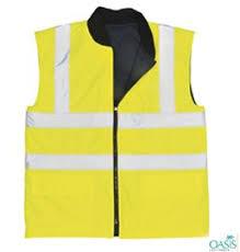 yellow safety vest work wear