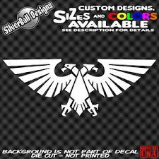 Aquilla Imperium Custom Vinyl Decal Sticker Car Truck Window Warhammer 40k D D Ebay