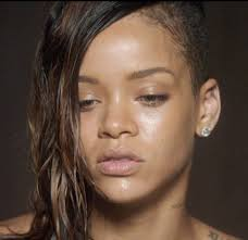best pictures of rihanna without makeup