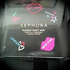 brandnew sephora party box make up