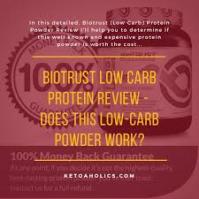 biotrust low carb protein review does