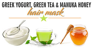 diy greek yogurt green tea and manuka