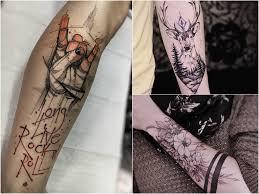 Tatuaz Na Przedramieniu 42 Imponujace Pomysly Na Wzor Etatuator Pl