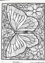 Butterfly Kleurplaten Mandala Kleurplaten Boek Bladzijden Kleuren
