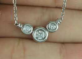 scott kay 18k white gold diamond circle