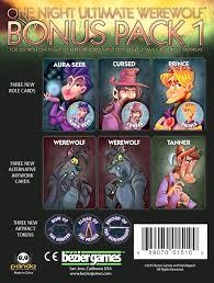 one night ultimate werewolf bonus pack
